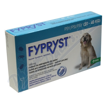 Fypryst Dogs 1x2.68ml spot-on pro psy