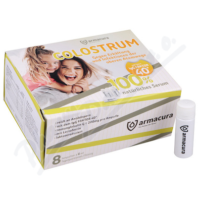 Armacura colostrum 6ml x 8 ampulí