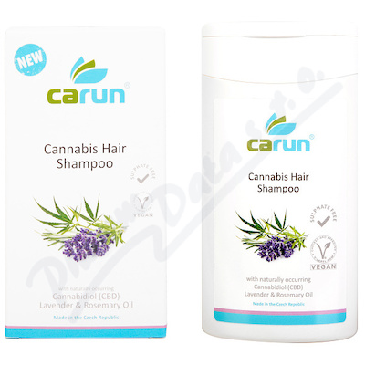 CARUN Cannabis Hair Shampoo 200ml