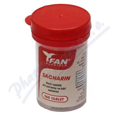 Fan sladidlo Sacharin 10g/160 tablet